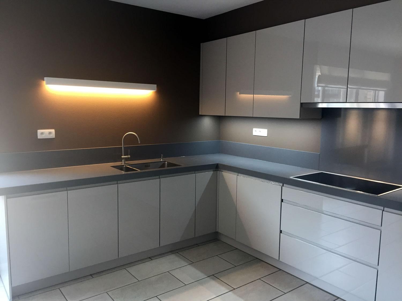 Nieuwe keuken gezet door renovatiebedrijf Christophe vandewalle